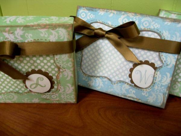 Teacher Gifts - Notecards and Boxes