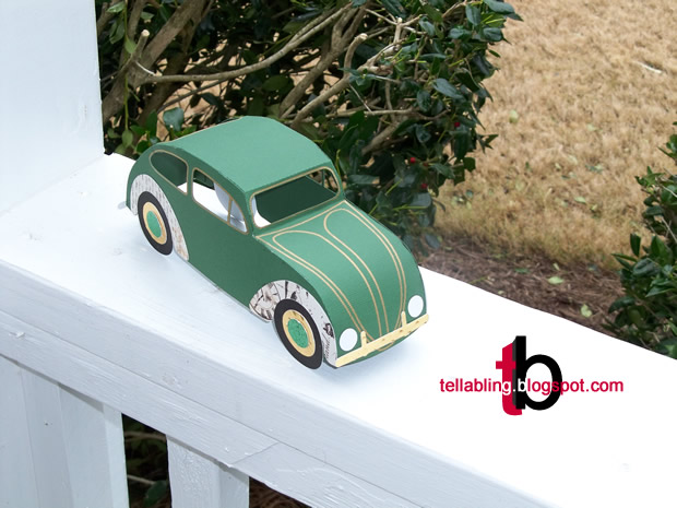 VW Beetle from the Library