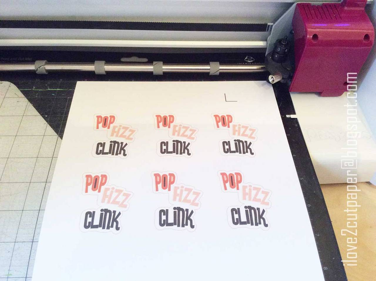 Print and Cut Toppers