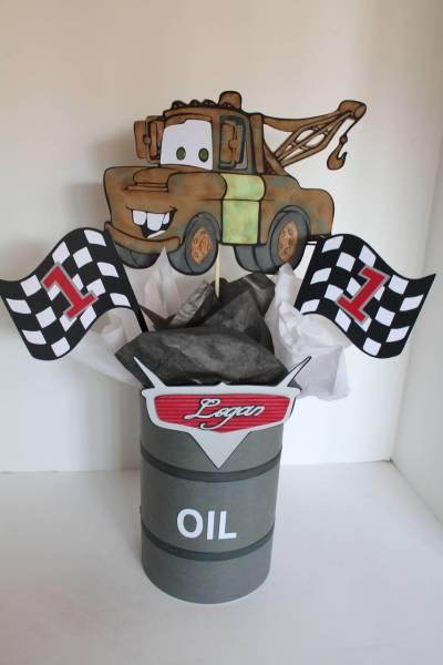 Disney cars centerpiece