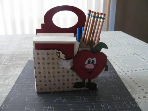 Teacher Stationary tote