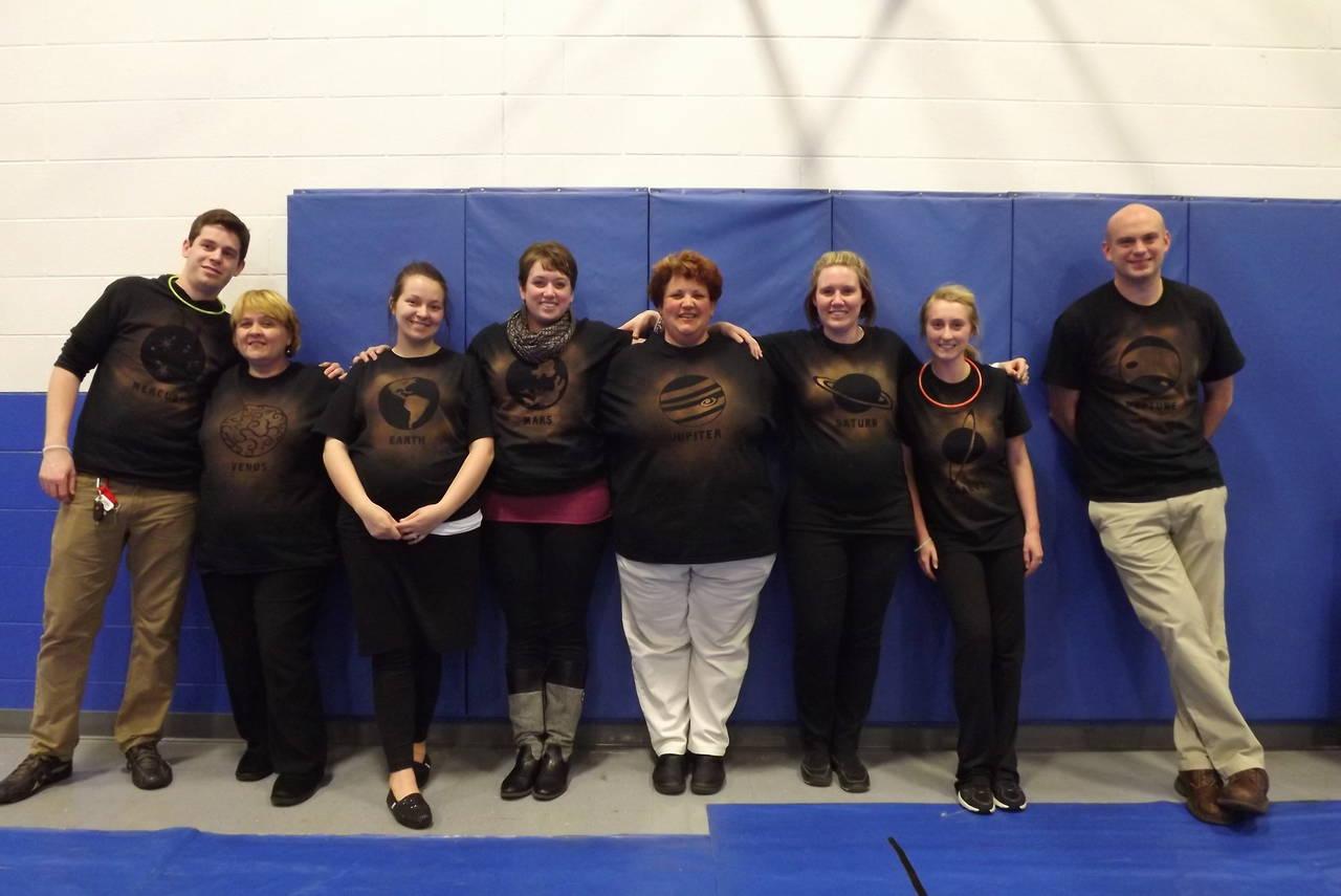 Planet Shirts for Teachers