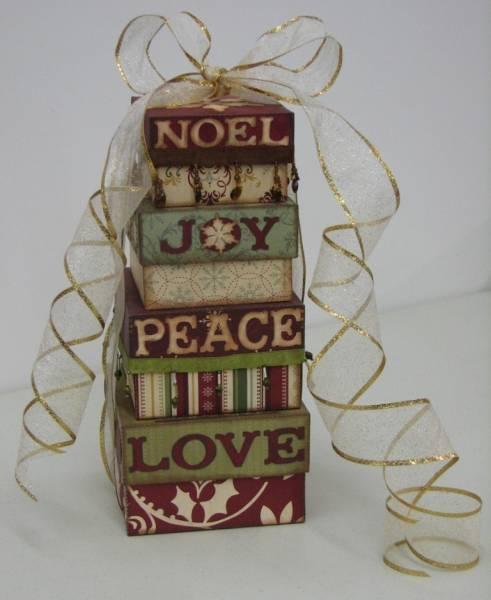 Christmas Nesting Boxes