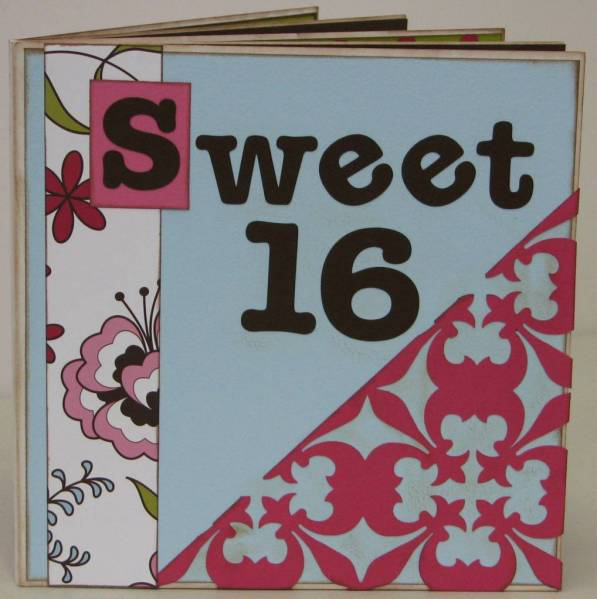 Sweet 16 Autograph Book