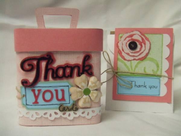 Thank You Card Storage Box