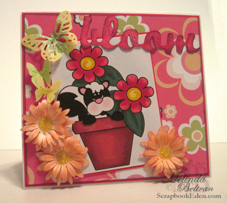 Bloom Stinkin' Cute Card