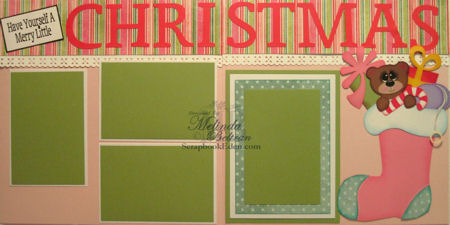 Have Yourself A Merry Little Christmas Layout