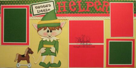 Santa's Little Helper Layout