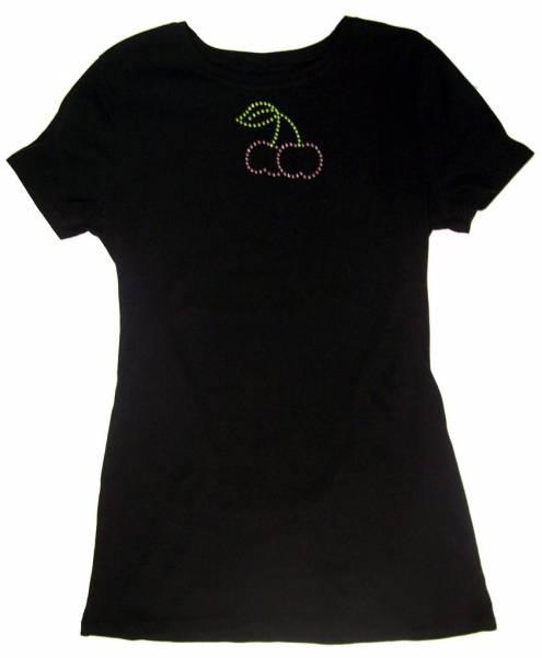 Cherry Rhinestone Tshirt