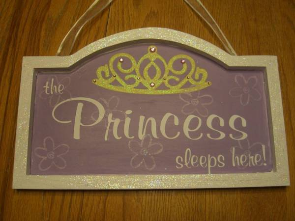 The Princess sleeps here!