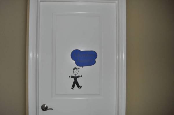 Homeschool Classroom Door