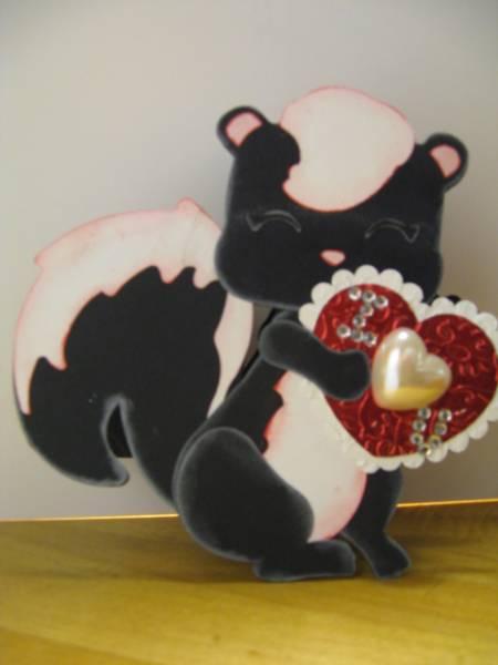 To Stickin' Cute....Be My Valentine