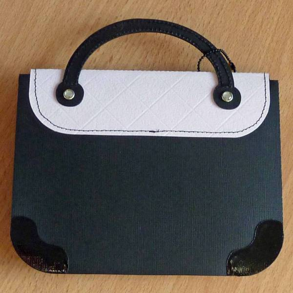 Pretty Handbag Card - May challenge