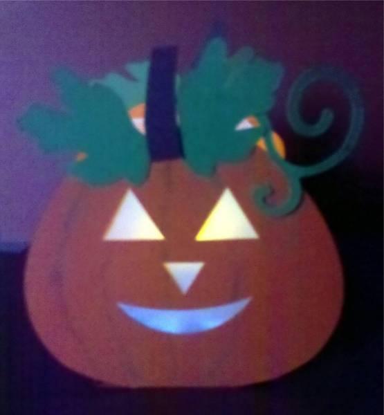 October challenge treat box & tealight holder