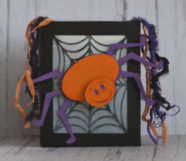 Spider and Web Treat-box/tea light