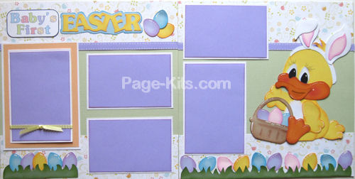 Baby's 1st Easter - Easter Day Fun Layout