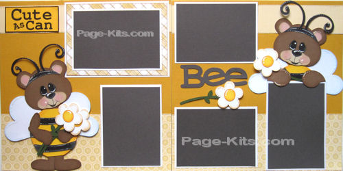 Cute As Can Bee Layout