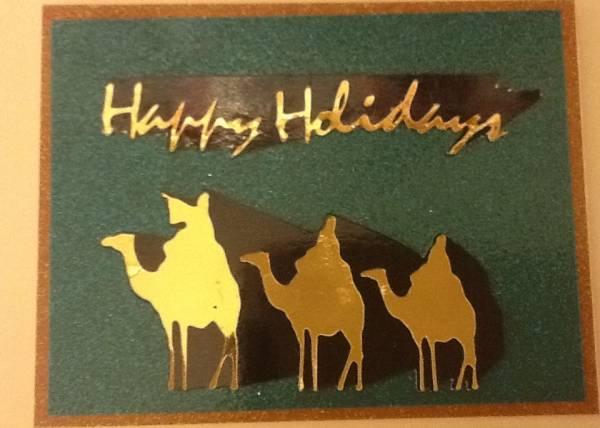 November Challenge 2011 - Christmas Card