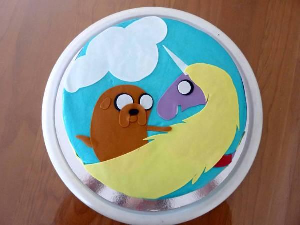 Sam's Rainicorn cake