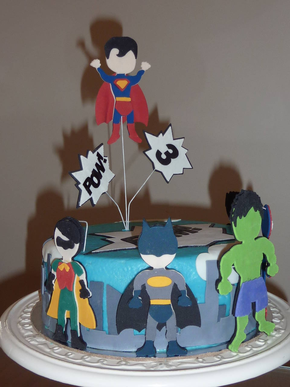 Ryder's Super Hero 3rd Birthday Cake