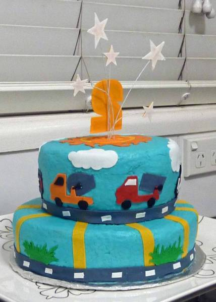 Ryder's Cake back view