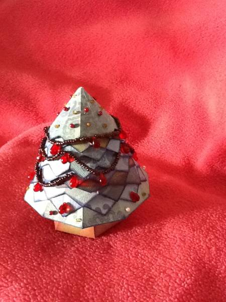 Stacked Christmas Tree Box