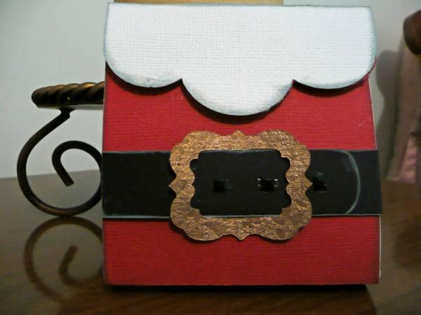 Santa Chapstick bag