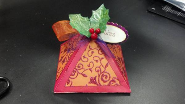 Candy filled Ornament Boxes