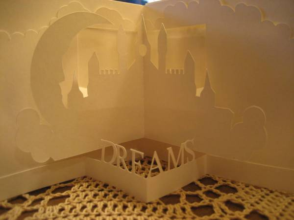 My 1st Pazzles Project-continued (Dreams)