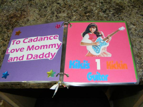 Book for my daughter