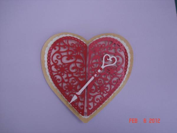 My Valentine for my valentine