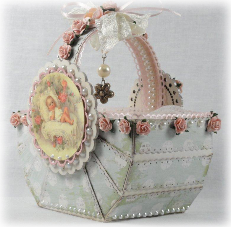 baby shower basket pazzles albums