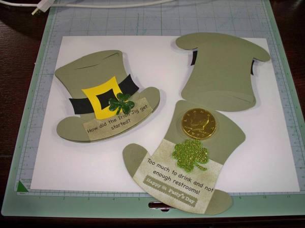 Irish Hat Card