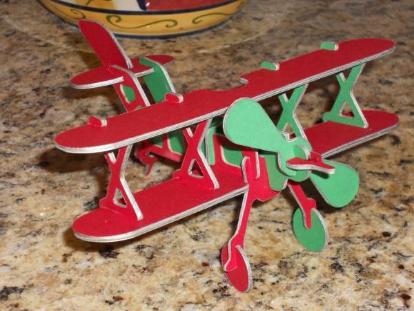 Hubby's Bi-plane