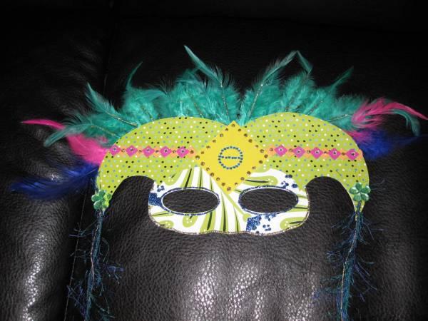 March Challenge - Mardi Gras Masks