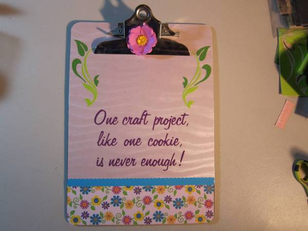 Clipboard for mom