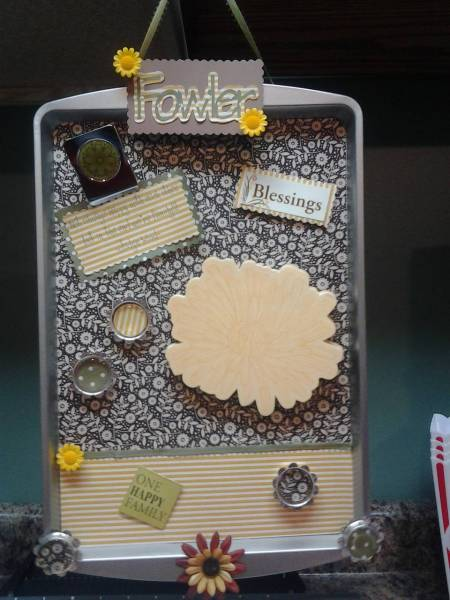 More Cookie Sheet Memo Boards