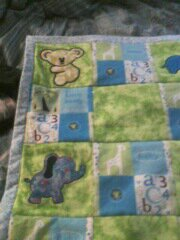 baby quilt continued