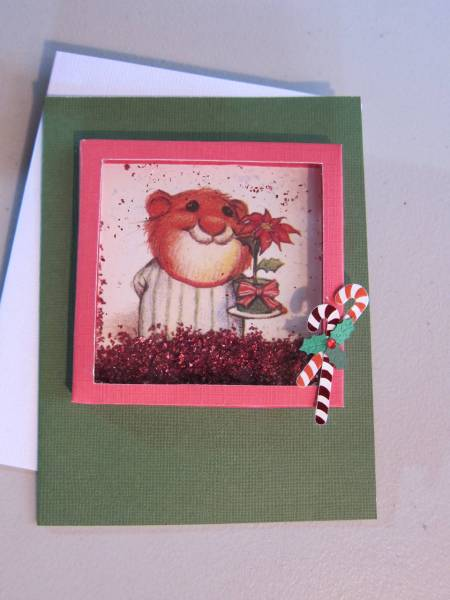 Christmas Shaker Box Card
