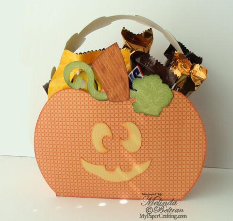Pumpkin Treat Box By Melin