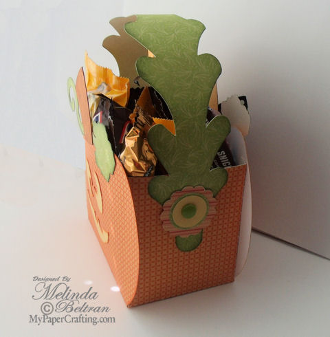 Pumpkin Treat Box By Melin