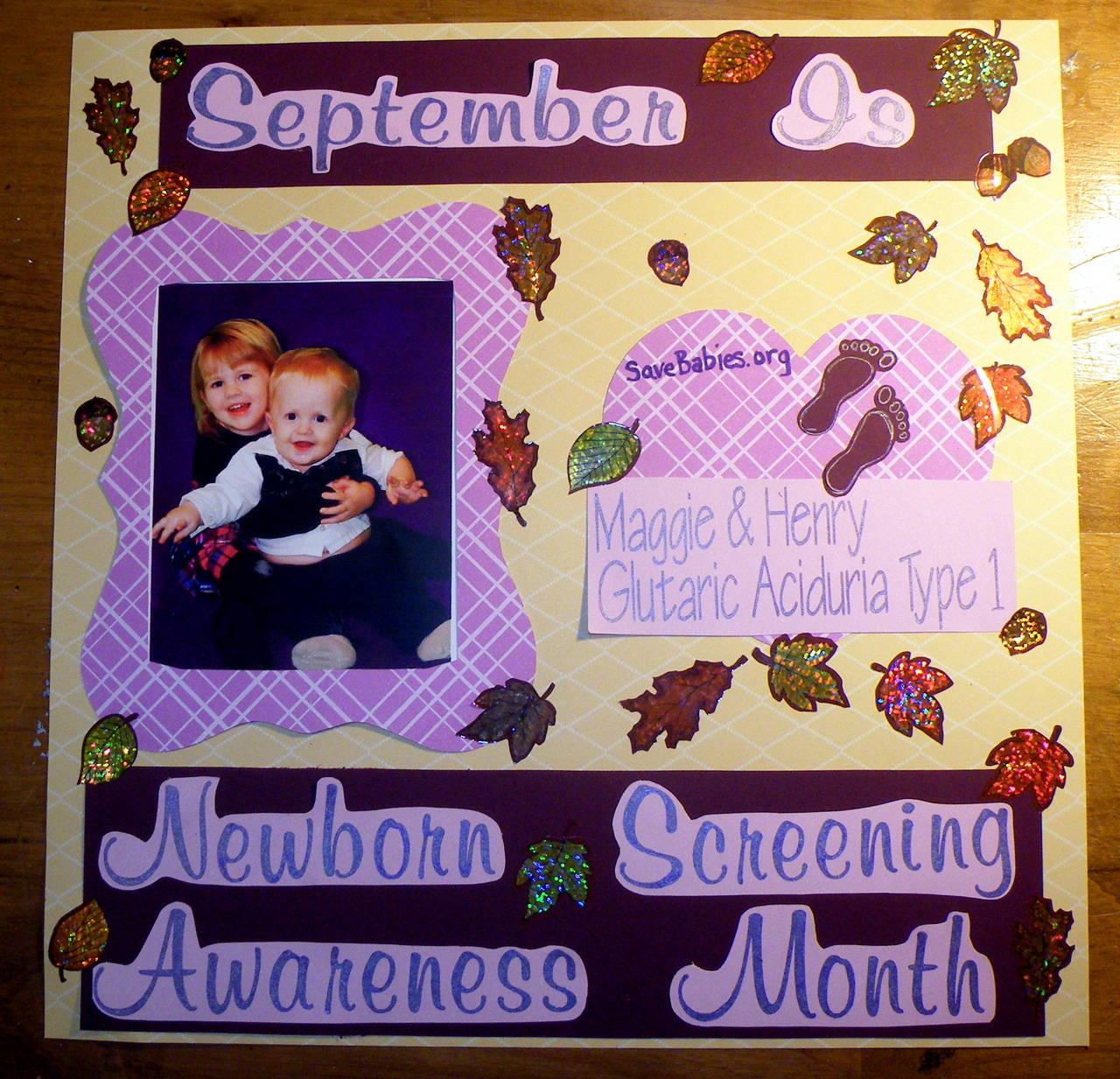 September is Newborn Screening Awareness Month!