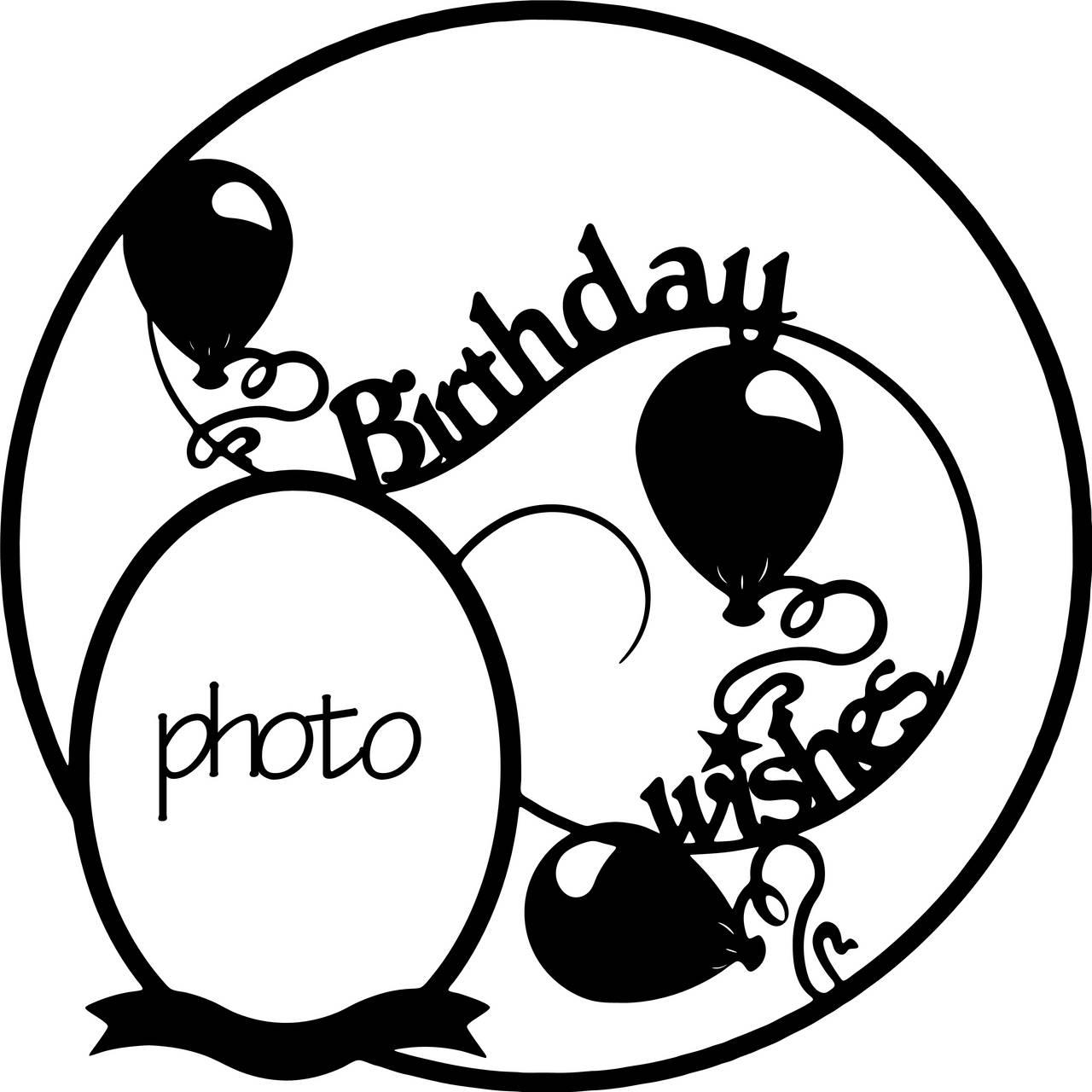 Birthday overlay