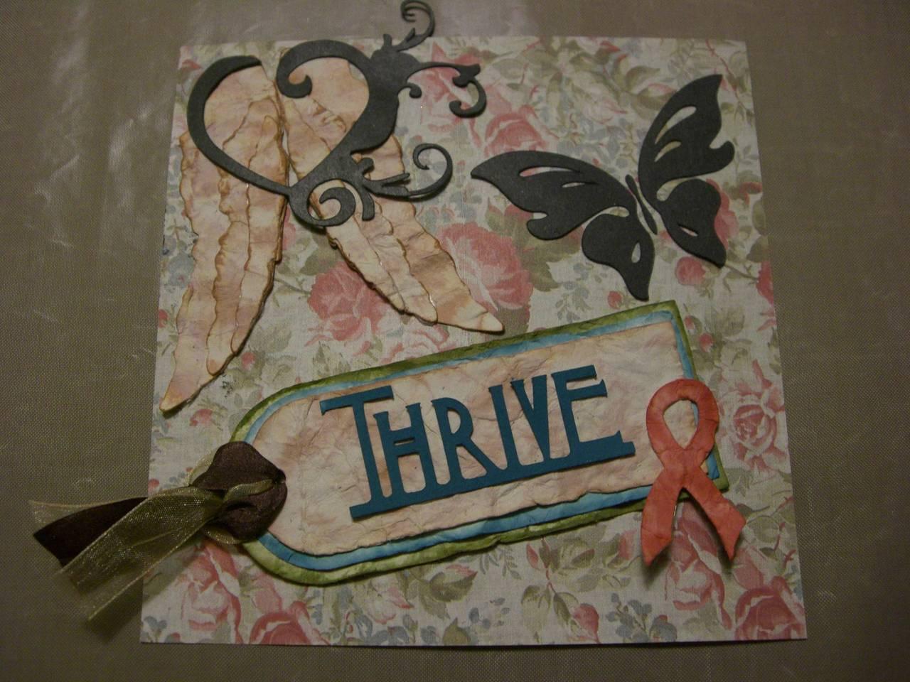 February 2013 Challenge -- Thrive!