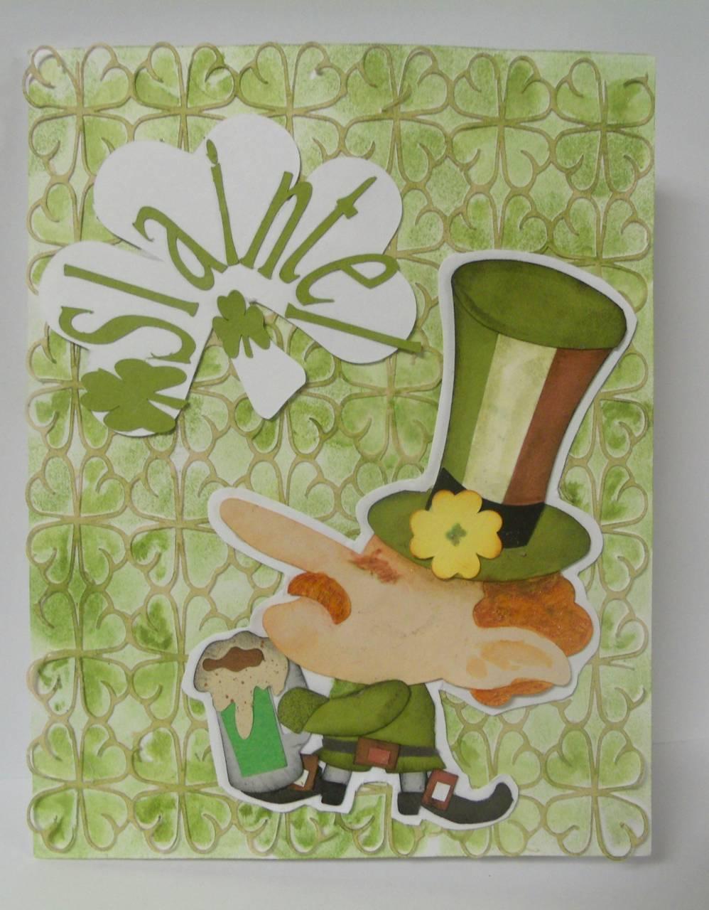St Patricks Day card Challenge