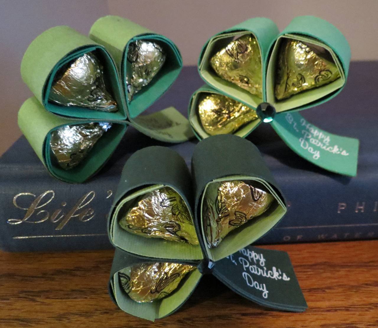 Hershey Kisses Shamrock