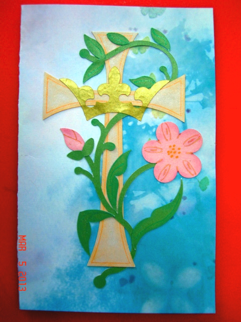Easter Card for March Challenge