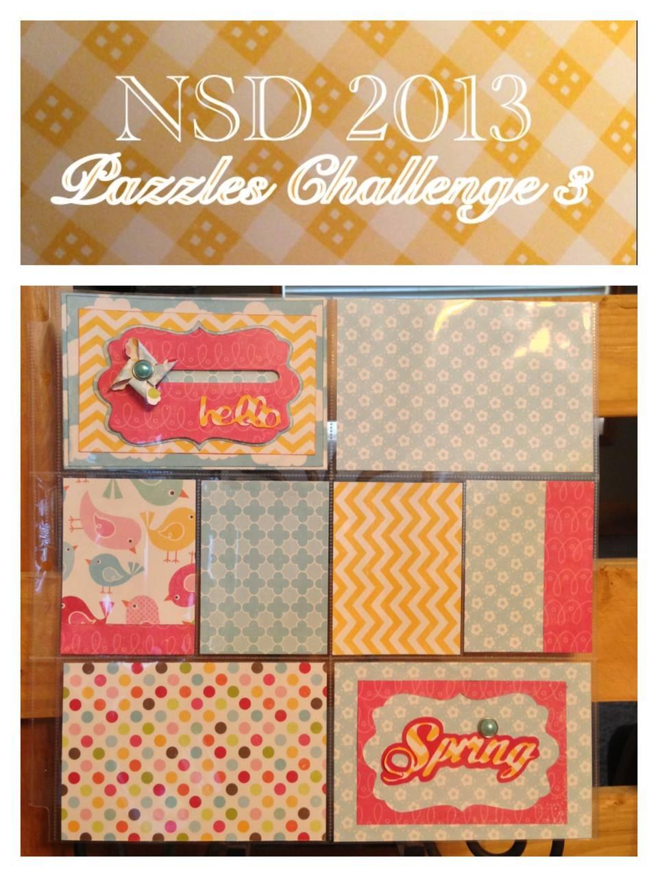 Challenge 3 penny pinwheel