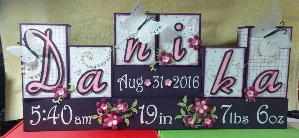 Birth Announcement Boxes