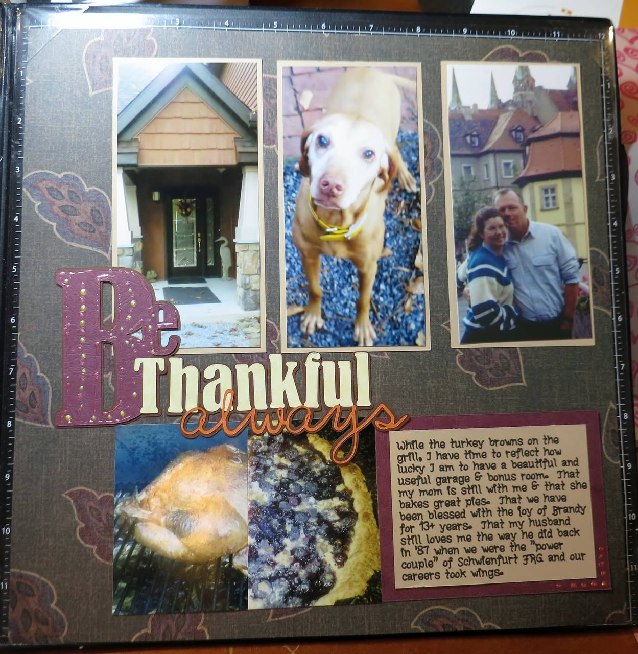 Be Thankful Always Title from Pazzles Library